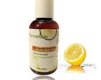 2 oz ) 35% Glycolic Acid Peel Enhanced with Retinol, Green Tea Extract