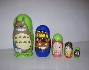 Totoro nesting doll