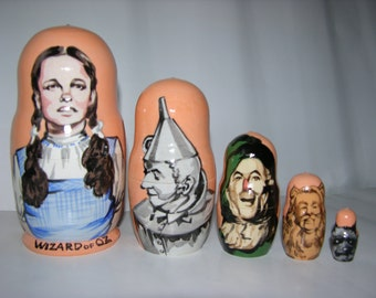 The Wizard of Oz nesting doll
