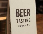 Letterpressed Beer Journal