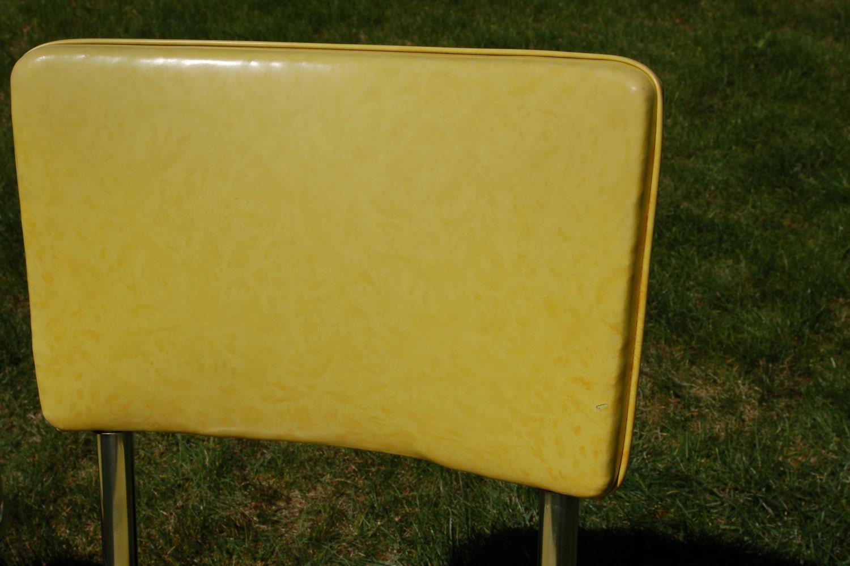 Pair Of Retro Douglas Furniture Chrome And Light Lime