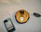 iPhone 4 or iPhone 5 Dock Station - Stand - Holder - Guitar Pick Display