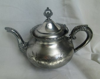 Van Bergh Quadruple Plate Teapot