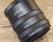Lentar Extension Adapters for Pentax