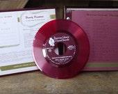 Family Devotions Red Vinyl Record Set 1950s