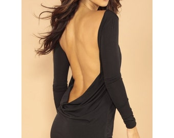 Classic backless dress