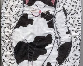 PDF - Happy Cat Potholder Pattern