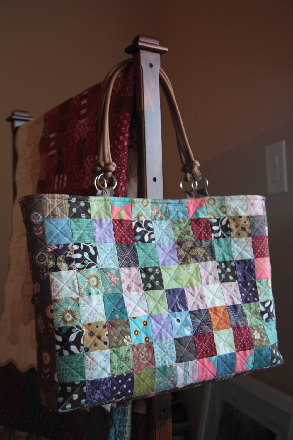 handmade quilted handbags - photo #24