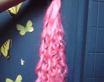 Pink Curly Tail Pinkie pie Tail Unicorn Horse My Little Pony Tail Curly Curls Cosplay Costume MLP my little pony cosplay