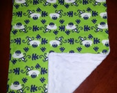 3  Monkey Burp Cloths for Boys. Unique Baby Gift. Set of 3