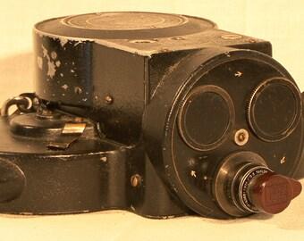 Vintage 16mm Victor Cine Camera Model 3