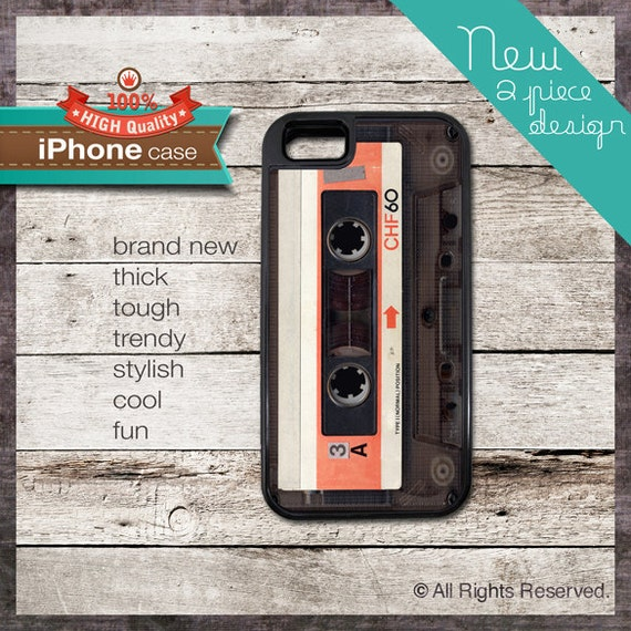 Vintage Tape Design - - iPhone 6, 6+, 5 5S, 5C, 4 4S, Samsung Galaxy S3, S4 120
