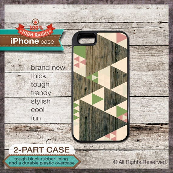 iPhone 6, 6+, 5 5S, 5C, 4 4S, Samsung Galaxy S3, S4 - Geometric Tribal Modern - Design Cover 47