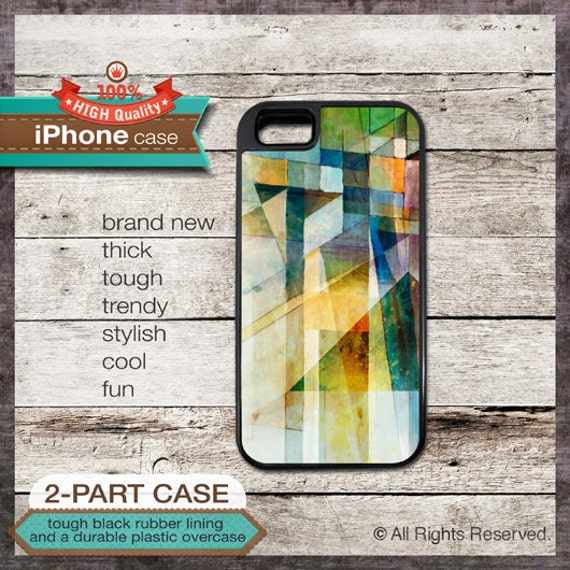 Abstract Painting - iPhone 6, 6+, 5 5S, 5C, 4 4S, Samsung Galaxy S3, S4 - Modern Art  - Design Cover 104