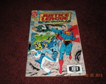 Mint Rare Justice League Spectacular First Issue DC Comic Book 1992