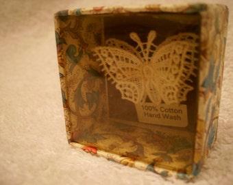 Lace Butterfly brooch