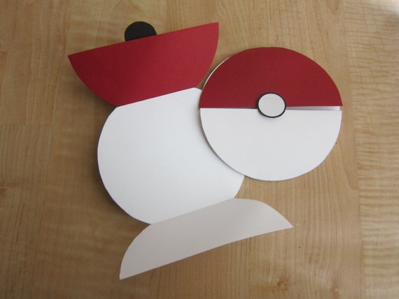 Pokeball 5.5-inch card