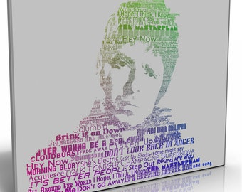 Noel Gallagher Oasis Canvas Print