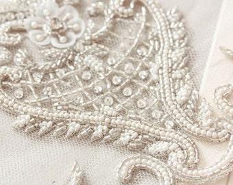 Heirloom Wedding Veil  - Viola Veil in Ivory