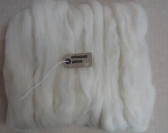 100g needle felting wool - (dorset horn)
