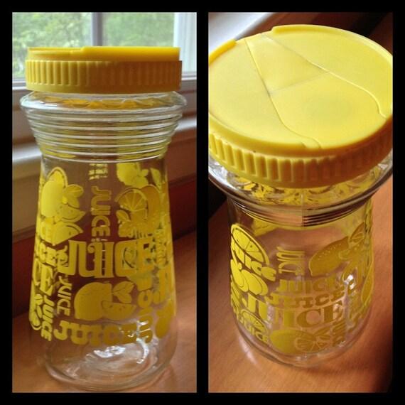 vintage glass juice jar eBay