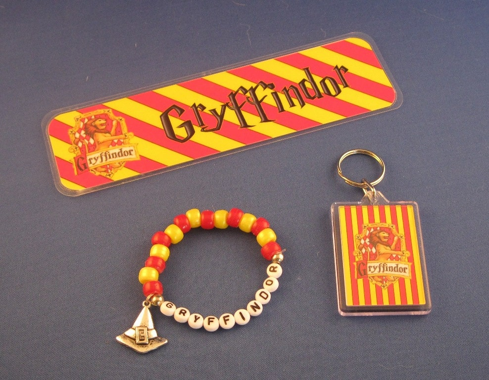 Harry Potter gift bundle 3 items Gryffindor by ...