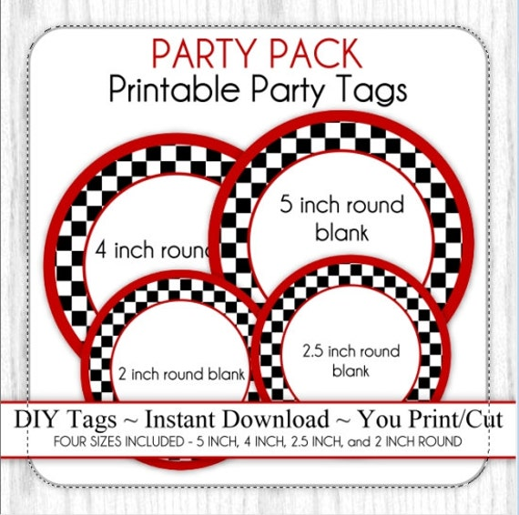 Party Pack Race Car Party Black Amp White Checkered Party