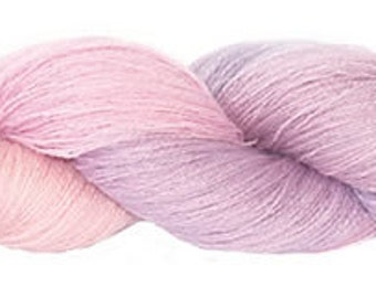 Mohair merino 2ply laceweight shade 297