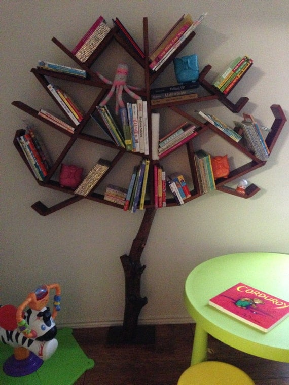 Tree Bookshelf By Craftmanbill On Etsy