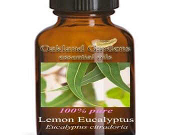 EUCALYPTUS LEMON Essential Oil - 100% PURE Therapeutic Grade Essential Oil - Eucalyptus citriodora
