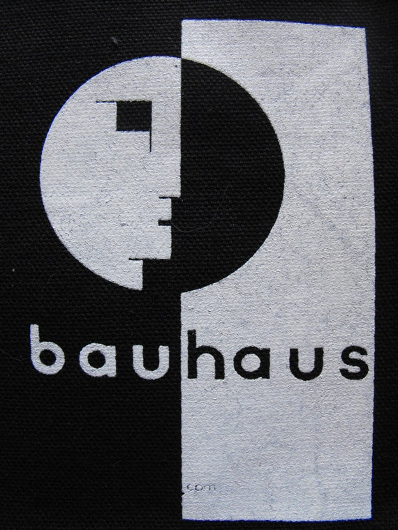 bauhaus logo patch goth gothic punk new wave free shipping. Black Bedroom Furniture Sets. Home Design Ideas