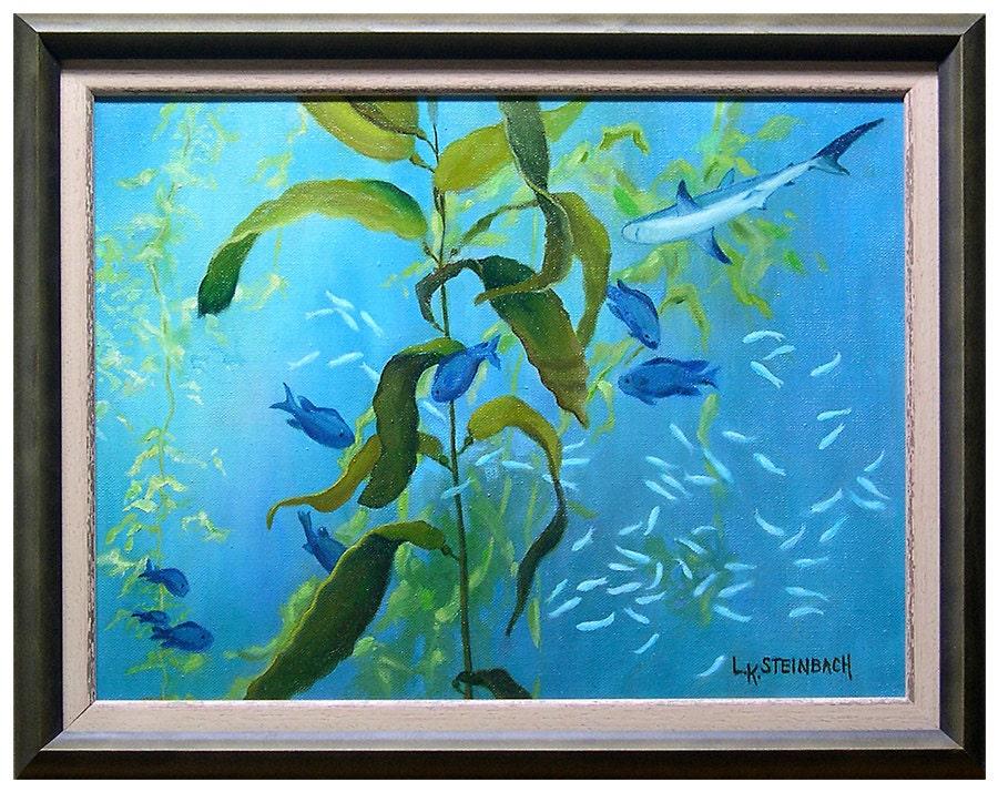 Turquoise aqua home decor monterey bay aquarium california for Aquarium decoration paint