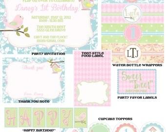 Lil' Birdie Birthday Party Pack