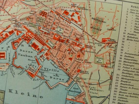 Street map Toulon France