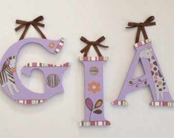 Jacana Wall Letters M2M Cocalo Nursery Bedding Name Personalized Decor Art