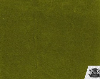Solid Olive Velboa Fabric Sold by the Yard
