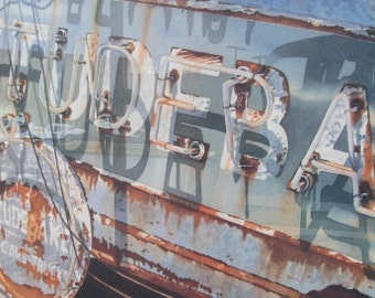 Once Proud - Classic Car Prints -Studebaker Art Classic Car Art