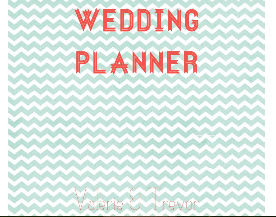 Printable Wedding Planner Binder Planning A Rustic: Wedding Planning Binder & Guest List Organizer