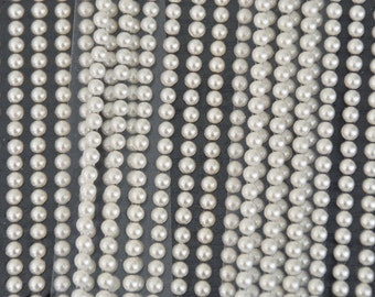 3 PK of 5mm STICKER PEARLS for Embellishments, DiY, Gift Tags, Die Cuts, Paper Crafts, Scrapbook, Weddings
