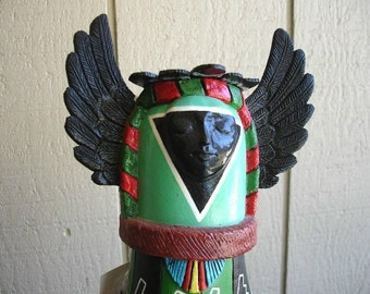 Gourd - Native American Crow Mother Kachina