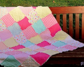 Kalliope Joyful Rag Quilt