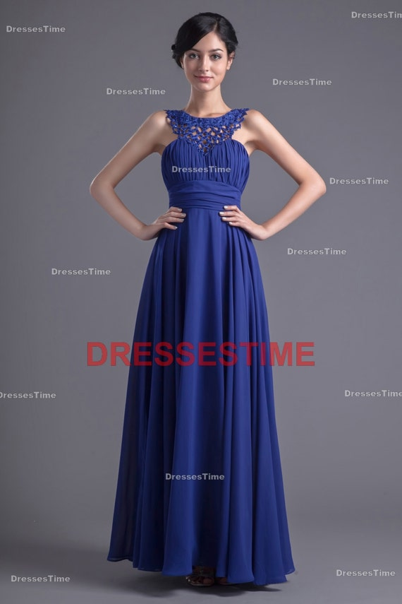 Blue Wedding Dress Simple : Blue bridesmaid dress simple cheap plus size