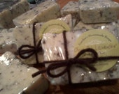 Olive Oil Soap with Fresh Dried Lavender