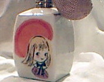 VTG Girl's Perfume Bottle 1960's