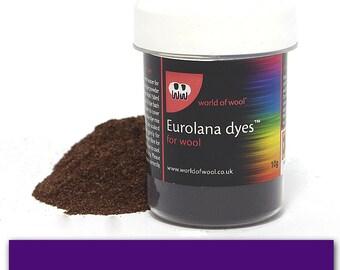 Violet - Eurolana Wool Dye - Hand Dye Your Own Wool - Roving/Top