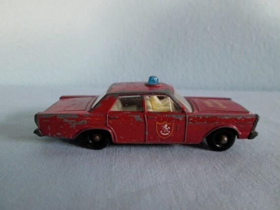ford galaxie fire chief  matchbox    jpjcandyland