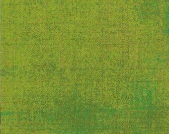 Distressed Fabric - Curio Grunge in Asparagus by Basicgrey for Moda Fabrics 30150 133 - 1/2 yard