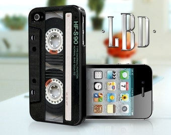 iPhone 4 4s Case - Vintage Blank Cassette iP4