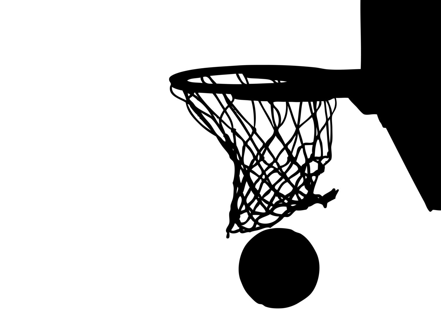 basketball net clipart free - photo #5