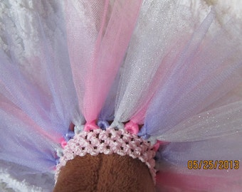 XS, Small, Medium or Large Dog or Cat Tutu  Choose your COLORS and Size